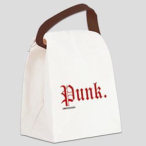 Punk Music Canvas Lunch Bag