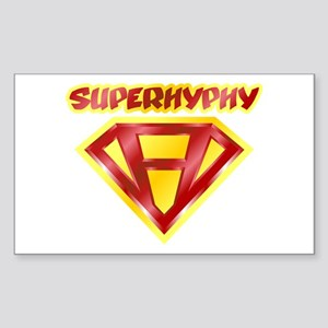 Super Hyphy Rectangle Sticker