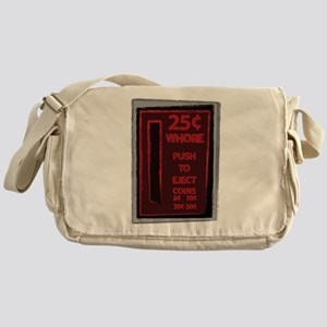 25 Cent Whore Messenger Bag