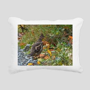 Partridge 2 Rectangular Canvas Pillow