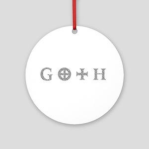 Goth Ornament (Round)