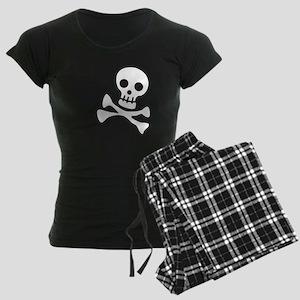 Cute Skull Women's Dark Pajamas