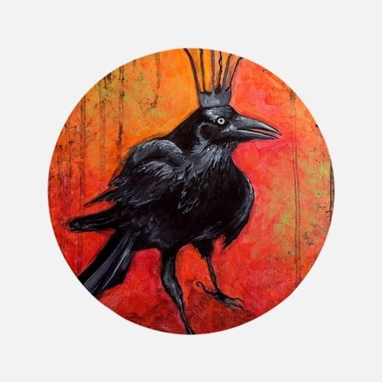 "The Raven King Darlington 3.5"" Button"