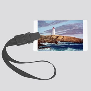 Peggy's Cove Lighthouse Large Luggage Tag