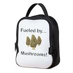 Fueled by Mushrooms Neoprene Lunch Bag