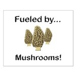 Fueled by Mushrooms Small Poster