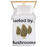 Fueled by Mushrooms Twin Duvet