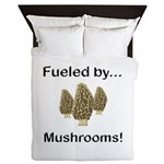 Fueled by Mushrooms Queen Duvet