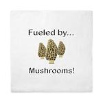 Fueled by Mushrooms Queen Duvet