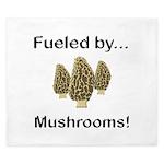 Fueled by Mushrooms King Duvet