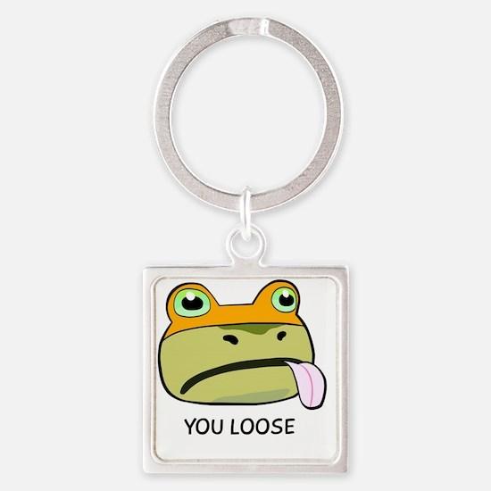 Amazing Frog_OUYA_4 Square Keychain