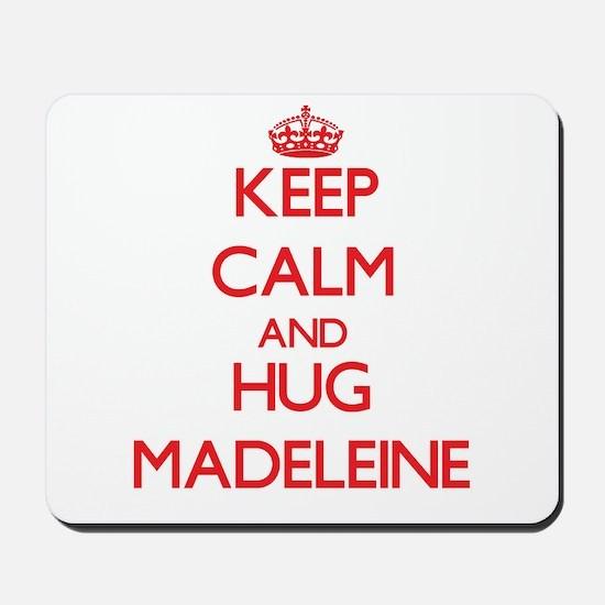 Keep Calm and Hug Madeleine Mousepad