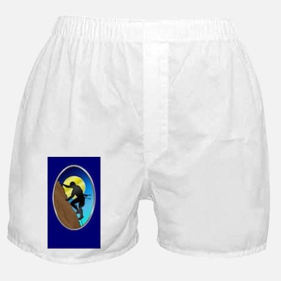 Rock Climber Necktie Boxer Shorts