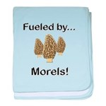 Fueled by Morels baby blanket