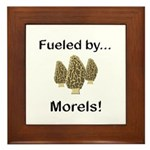 Fueled by Morels Framed Tile