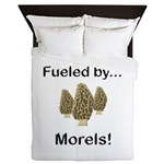 Fueled by Morels Queen Duvet