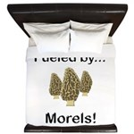 Fueled by Morels King Duvet