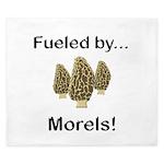 Fueled by Morels King Duvet