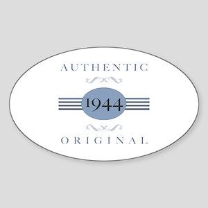 1944 Authentic Original Sticker (Oval)