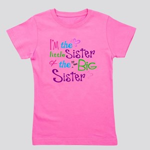 Im a littl and big sister Girl's Tee