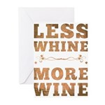 More Wine Greeting Cards