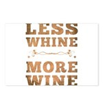 More Wine Postcards (Package of 8)