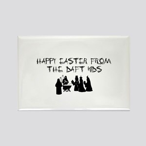 HAPPY EASTER..OFFENSIVE RELIGIOUS Rectangle Magnet