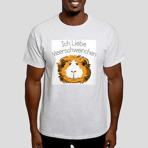 Ich Liebe Meerschweinchen T-Shirt