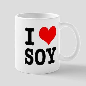 I Heart (Love) Soy Mug