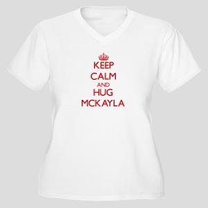 Keep Calm and Hug Mckayla Plus Size T-Shirt