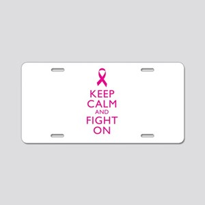 Keep Calm And Fight On Breast Cancer Support Alumi