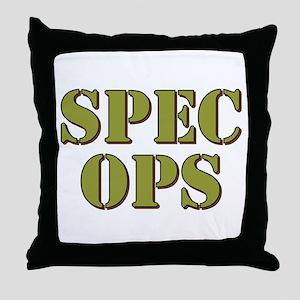 SPEC OPS Throw Pillow