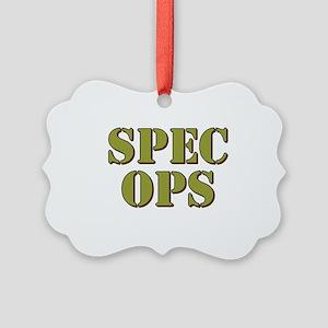 SPEC OPS Ornament