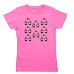 Penguins In Love Girl's Tee
