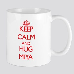 Keep Calm and Hug Miya Mugs