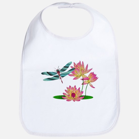 Dragonfly Art Bib