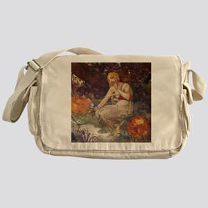 Prophetess by Mucha Messenger Bag