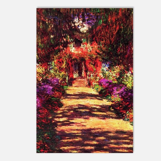 Garden Path by Claude Mon Postcards (Package of 8)
