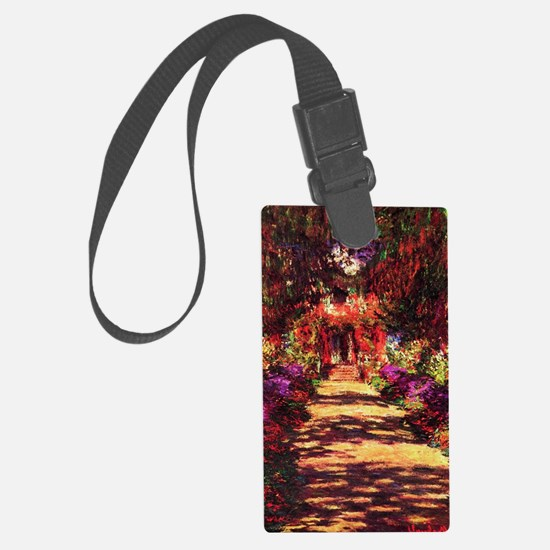 Garden Path by Claude Monet Luggage Tag