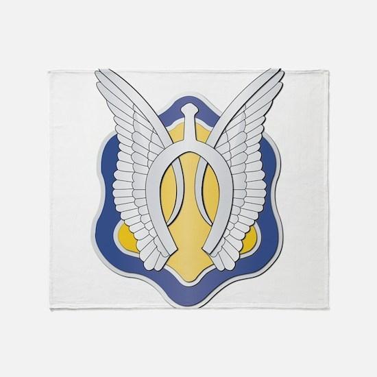 DUI - 2nd Squadron - 17th Cavalry Regt Throw Blank