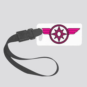 Wonder Woman X Star Sapphire Small Luggage Tag