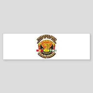 Army - 160th Signal Group w SVC Ribbon Sticker (Bu