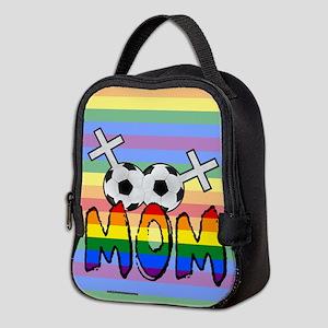 Lesbian Soccer Mom Neoprene Lunch Bag