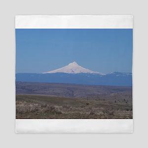 Mt. Jefferson Queen Duvet