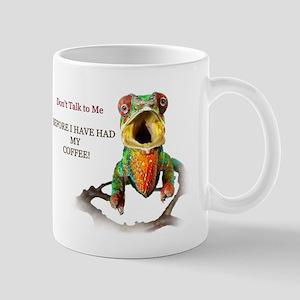 Angry Chameleon Coffee Mugs