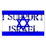 Support Israel Rectangle Sticker