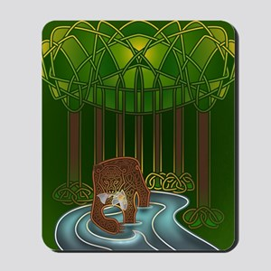 Bear of Wisdom Mousepad