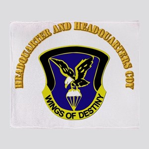 DUI - Headquarter and Headquarters Coy with Text T