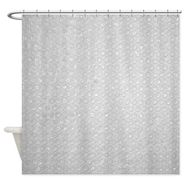 Bubble Wrap Small Shower Curtain By NaturesLittleTreasures