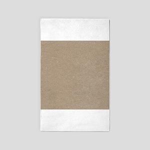 Cardboard 3'x5' Area Rug